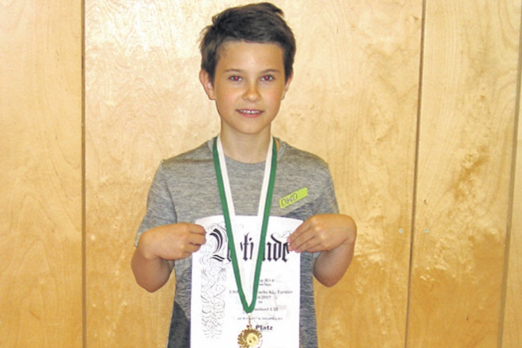 Phillip Riva ist steirisches Badminton-Talent